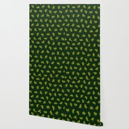 Frog Prince Pattern Wallpaper