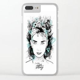 Audrey Hepburn - Tiffanys Clear iPhone Case