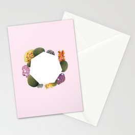 Coral Me Pretty - pink Stationery Cards