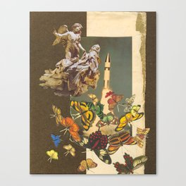 Ecstasy of the Lepidoptera (Spring) Canvas Print