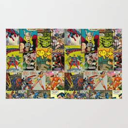 Comic Pattern Rug