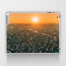 City and the sky Laptop & iPad Skin