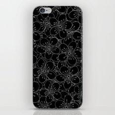 Cherry Blossom Black on White - In Memory of Mackenzie iPhone & iPod Skin