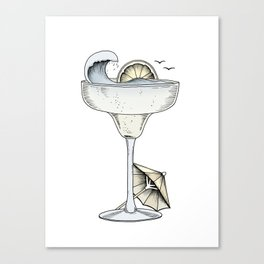 Summer Cocktail Canvas Print