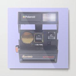 polaroids camera autofocus sun 660 Metal Print
