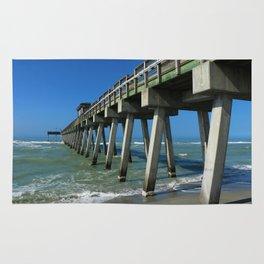 Fishing Pier - Venice Florida Rug