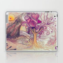 inner landscape with tree Laptop & iPad Skin