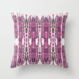Bianca's Beads Throw Pillow