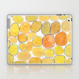 Cheerful orange Gathering Laptop & iPad Skin