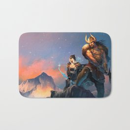 League of Legends-Tryndamere and Ashe Bath Mat