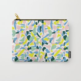 Postmodern Painting in Nile Pastel Carry-All Pouch