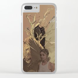 The Lion. Clear iPhone Case