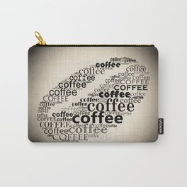 Coffee bean vignette Carry-All Pouch