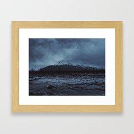 Haunted Alaska Framed Art Print