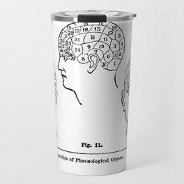 Phrenology Travel Mug