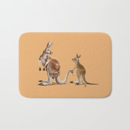 Being Tailed (Colour) Bath Mat