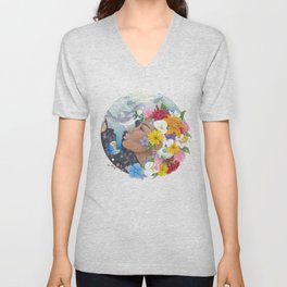 Beauty in Abstract-Realism Unisex V-Neck