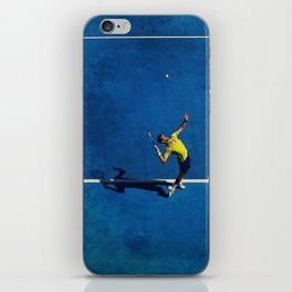 Novak Djokovic Tennis Serving iPhone Skin