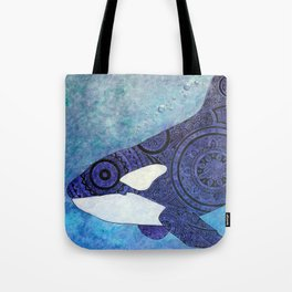 The Traveler Orca and Fish Tote Bag