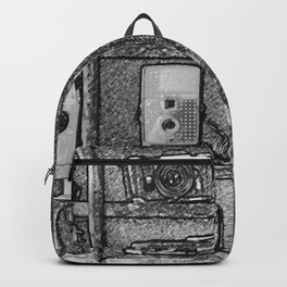Vintage Camera Collection Backpack