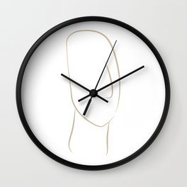 cycladic #2 Wall Clock