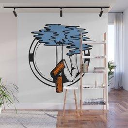 Go imagine somewhere else! Wall Mural