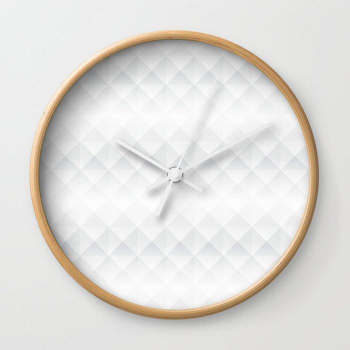 Hidden Perspective Wall Clock