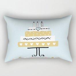 Happy birthday cake Rectangular Pillow
