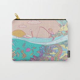Busy underwater Carry-All Pouch