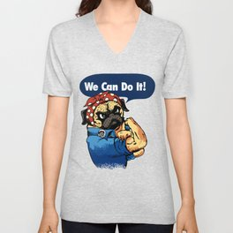 We Can Do It Unisex V-Neck