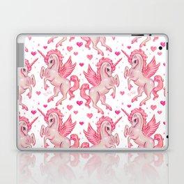 Pink Unicorn Pegasus Laptop & iPad Skin