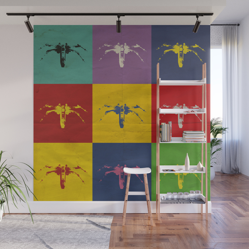 X-wing Fighter Wall Mural by Jakethomas WMP7926093