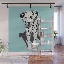 Dalmatian Puppy Wall Mural