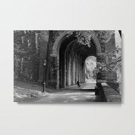 Ft. Tryon Tunnel Metal Print