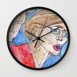 Senator Elizabeth Warren Wall Clock