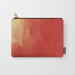 Abstract Red Landscape Carry-All Pouch