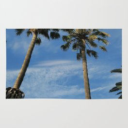 two palm trees Rug