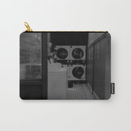 The Laundromat B&W Carry-All Pouch