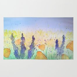 You Belong Among The Wildflowers Rug