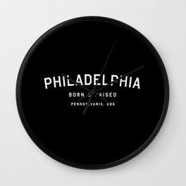Philadephia - PA, USA (Arc) Wall Clock