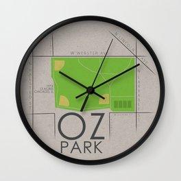 Chicago - Oz Park Wall Clock