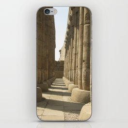Temple of Luxor, no. 3 iPhone Skin