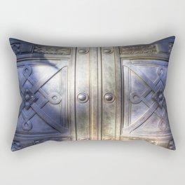 Crypt Door Highgate Cemetery Rectangular Pillow