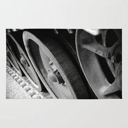 Tank Wheels Rug