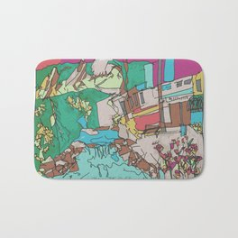 Boulder Color  Bath Mat