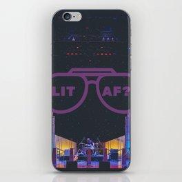LIT AF? iPhone Skin