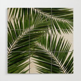 Palm Leaf III Wood Wall Art