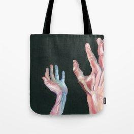 Grasping Darkness Tote Bag