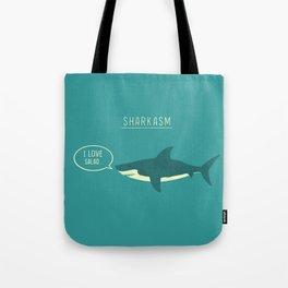 Sharkasm Tote Bag