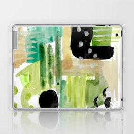 Garden Fern Abstract Laptop & iPad Skin